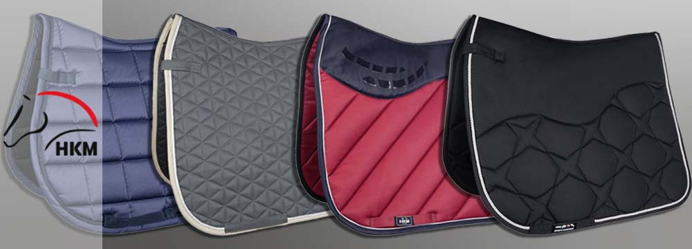 New Exclusive HKM Saddle Cloths: Discover them Now!
