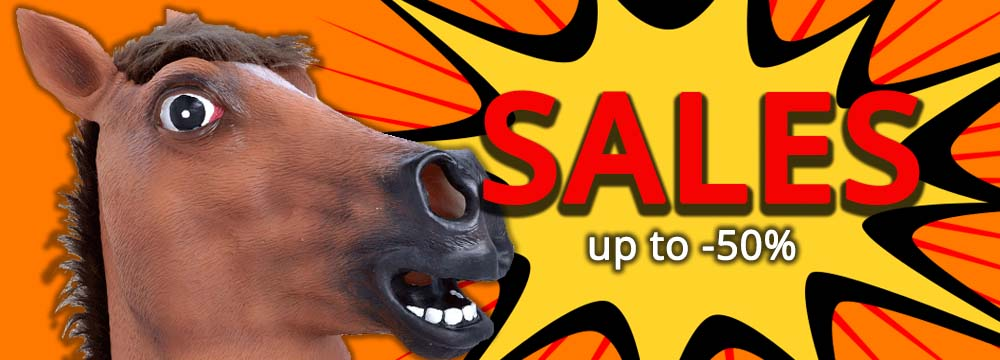 The Sales have started: take advantage now of the Discounts up to -50%