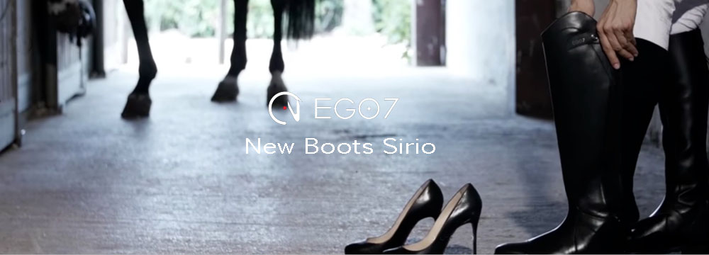 New Sirio Ego7 Boots: New Unbeatable Price, 100% Made in Italy