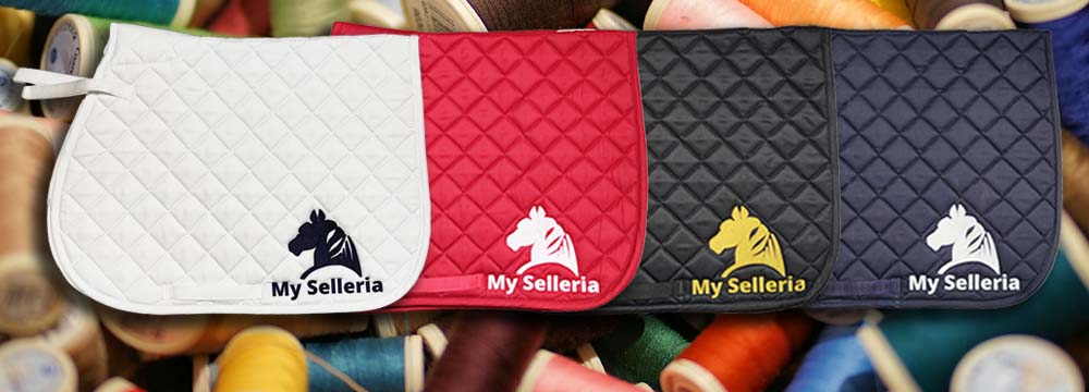 My Selleria Embroidered Saddle Pad: the Made in Italy Brand!