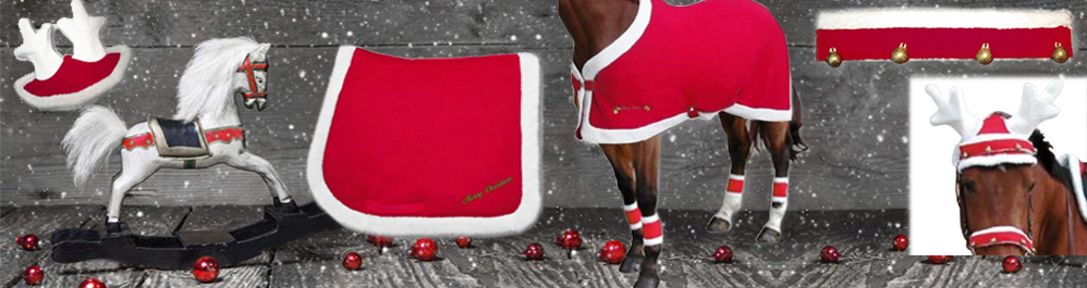 Christmas accessories for your horse!