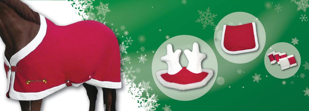 Christmas Horse Accessories