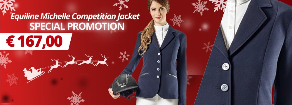 Special Promotion Equiline Michelle Competition Jacket