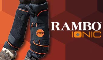 Therapeutic Stable Boots Rambo Ionic